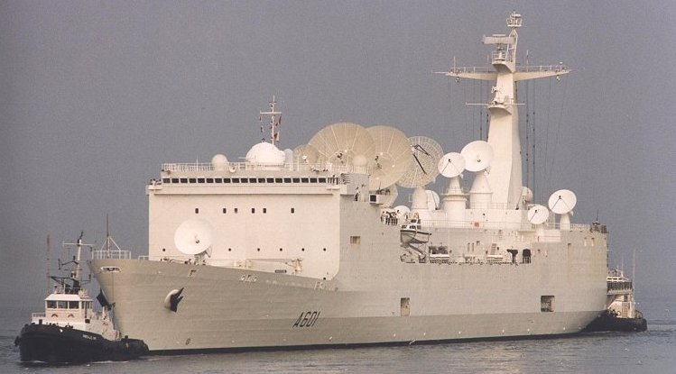 Satellite and Missile Tracking Ship BEM Monge