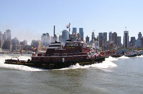 Tug Boat Race - New York Harbor