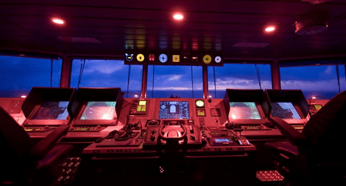 Integrated Bridge System With ECDIS - Electronic Chart Display
