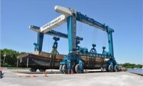 World's Third Largest Boat Hoist Delivered