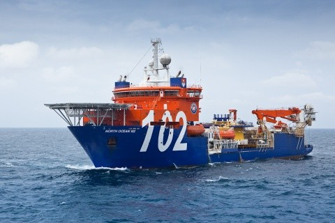 McDermott NO102 subsea installation vessel