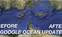 Update Marks The 3rd Anniversary of Google Oceans With High Definition Cartography