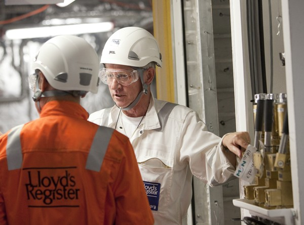 lloyd's register surveyor