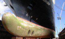 Ship Photo of the Day – Holland America Line's Zaandam in Dry Dock