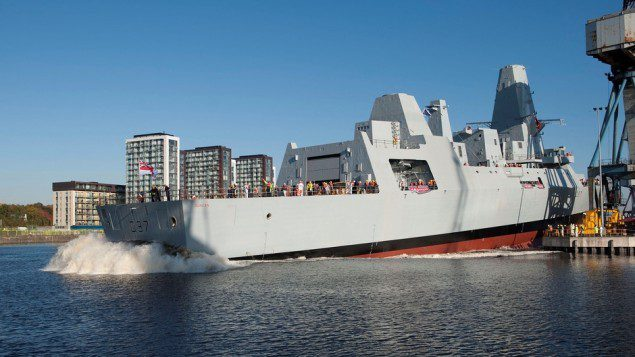 duncan launch type 45 bae systems