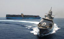 Ship Photo of the Day: HNLMS Evertsen Showing Off in the Gulf of Aden