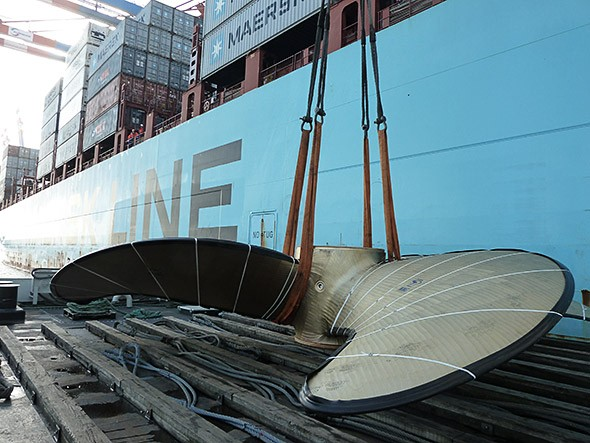 maersk triple E propeller