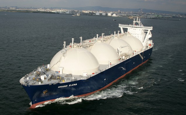 lng carrier grand elena gazprom