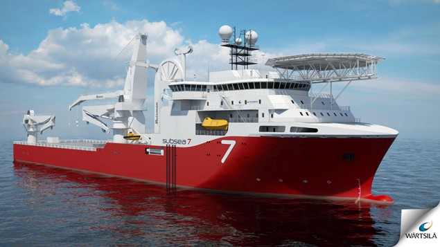 wartsila subsea 7 heavy construction vessel