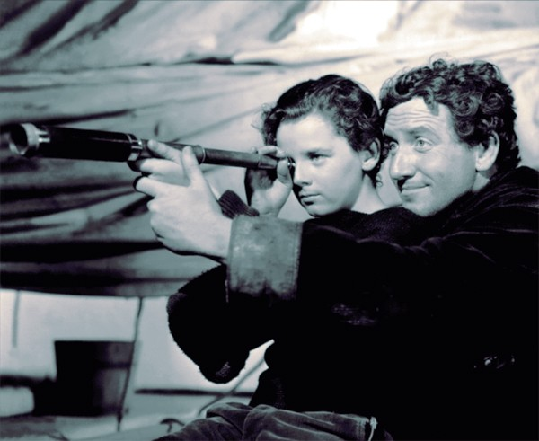 Spencer Tracy and Freddie Bartholomew