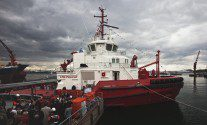 Sanmar Shipyard Completes M/T Borgøy, World's First LNG-Powered Tugboat [HD PHOTOS]