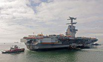 U.S. Navy's $12.9 Billion Carrier Falls Further Behind Schedule