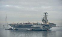 Sea Trials for U.S. Navy's Next Supercarrier Delayed