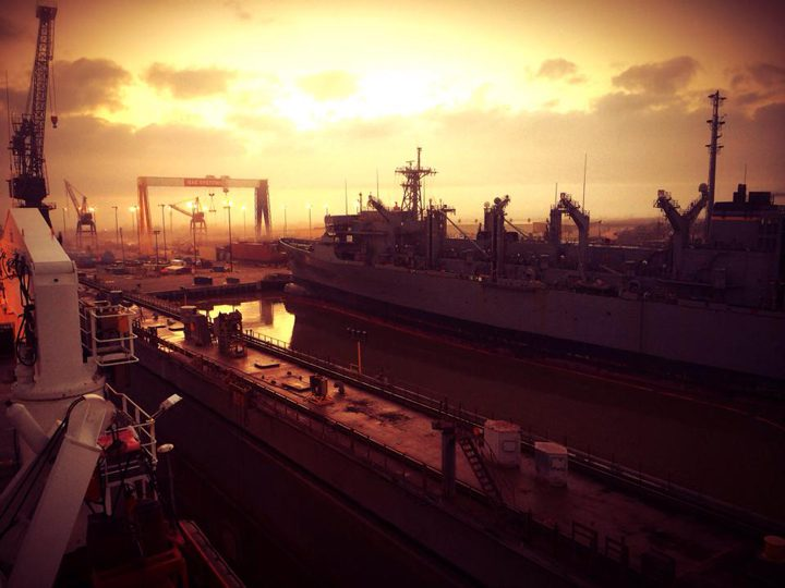 bae systems sunrise shipyard