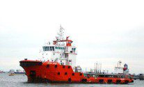EMAS' Lewek Ebony Spooked After Being Chased Offshore Indonesia