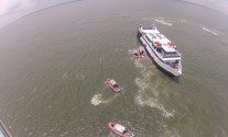 Coast Guard Evacs 118 From Stranded Casino Ship – PHOTOS