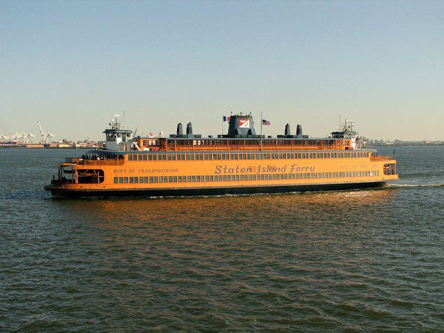 The new ferries will replace the existing Barberi and Kennedy (pictured above) class ferries. Photo by Norbert Nagel, Mörfelden-Walldorf, Germany/Wikimedia Commons