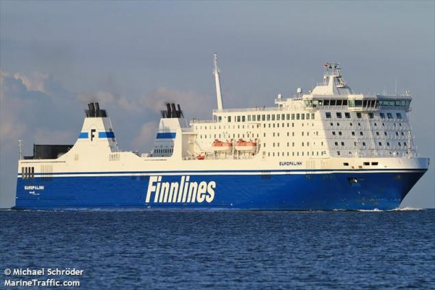 File photo shows MS Europalink, formerly part of  the Finnlines fleet. Photo (c) MarineTraffic