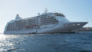 "Regent Cruise Lines' ""Seven Seas Mariner"". Photo courtesy"