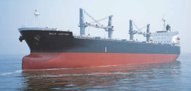 bulk jupiter bulk carrier