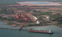 Bulk Jupiter Sinking Prompts Bauxite Liquefaction Warnings