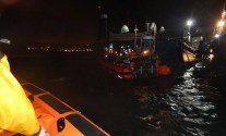 Two Men Narrowly Escape Capsized Tug in Southampton