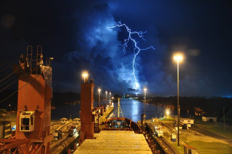 lightning-ship Panama Canal