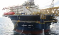 Ship Photos of the Day – Inside Arendal Spirit, Teekay's Giant Cylindrical Accommodation Rig