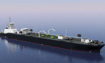 Ocean-Going LNG Bunkering Barge Concept Receives Class Approval