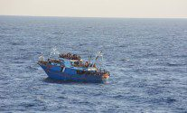 Commercial Ships Scoop Up Desperate Human Cargo