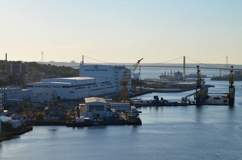 Halifax Shipyard. Photo: Wikimedia Commons