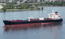 Crowley Christens First LNG-Ready Product Tanker