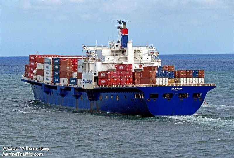 MV El Faro. Photo: MarineTraffic.com/