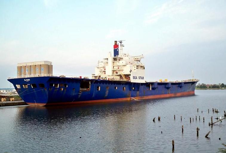 El Faro pictured laid up in Baltimore in 2010. Photo: Allen Baker