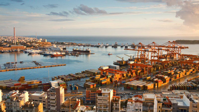 Piraeus Port. Photo: Milan Gonda / Shutterstock.com