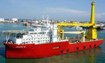 New Offshore Construction Vessel Arrested in Singapore