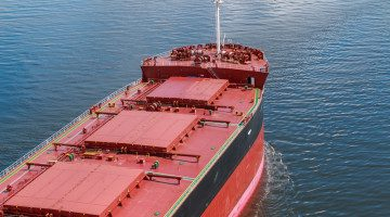 Baltic Dry Index, Up for Nine Straight Sessions, Hits Two-Month High