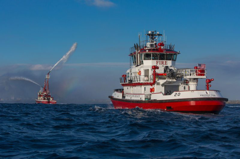 Fireboat 20 (Protector). Credit: Port of Long Beach