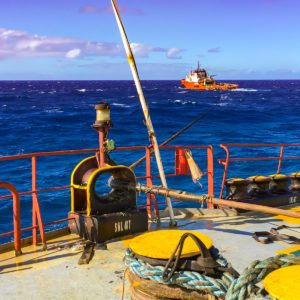 Dyneema Lines To Salvage Tug