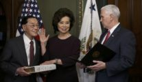 U.S. Senate Confirms Chao to Head Transportation Department