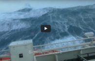 WATCH: Boxing Day Storm in North Sea
