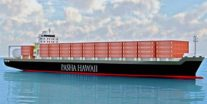 Pasha Hawaii Orders LNG-Powered Containerships at Keppel