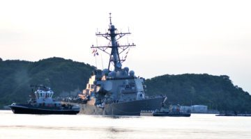 USS Fitzgerald Officers to Be Relieved of Command