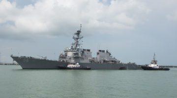 CNN Reports USS John S. McCain Lost Steering Prior to Collision