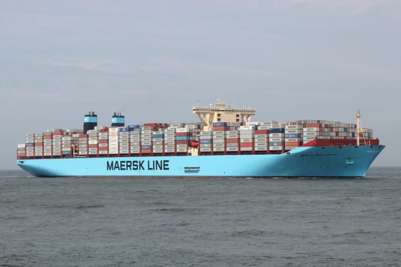 maersk containership