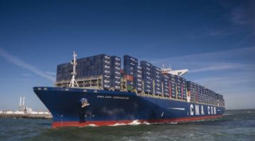 CMA CGM Signs Shipbuilding Contracts for Nine Record-Breaking 22,000 TEU Containerships
