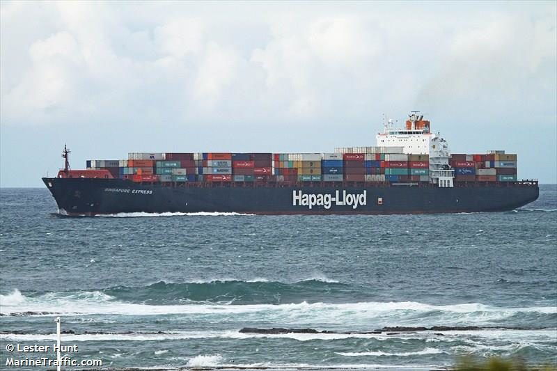 singapore express containership