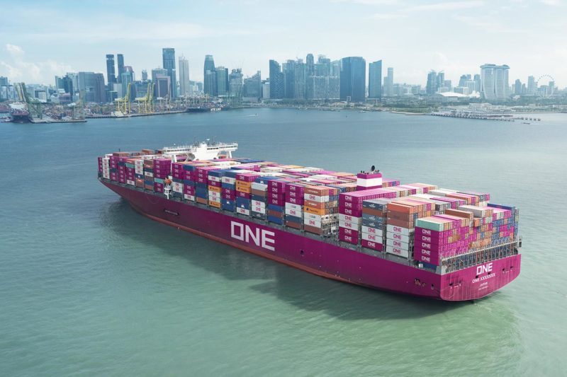 ONE Container ship
